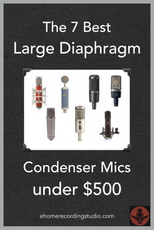 best large diaphragm condenser microphones