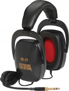 Extreme Isolation EX29 closed back studio headphones