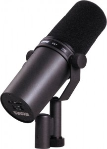 Shure SM7B - vocal recording microphone