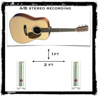 ab stereo recording