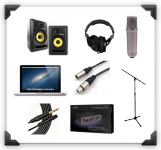 Superb The 9 Home Recording Studio Essentials For Beginners Largest Home Design Picture Inspirations Pitcheantrous