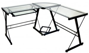 Walker Edison 3-Piece Contemporary Desk