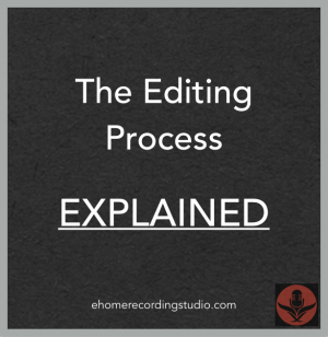 audio editing explained