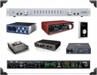 audio interface options