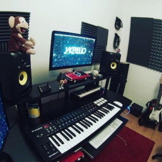 dedicated home studio