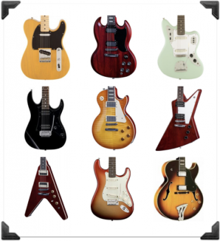 best electric guitars the ultimate beginner 39 s guide. Black Bedroom Furniture Sets. Home Design Ideas
